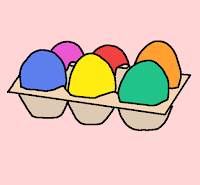 イースターと卵